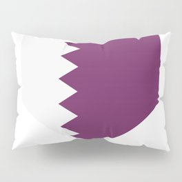 flag of qatar Pillow Sham