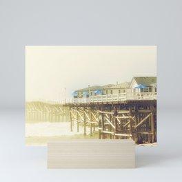 Crystal Pier Mini Art Print