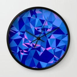 Shades of Blue Wall Clock