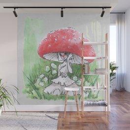 Empire of Mushrooms: Amanita Muscaria Wall Mural