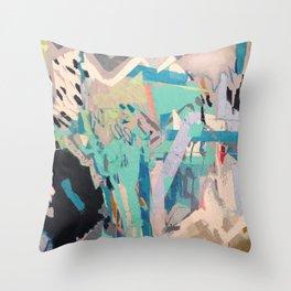 MASK_ Art Abstract Original SF Throw Pillow