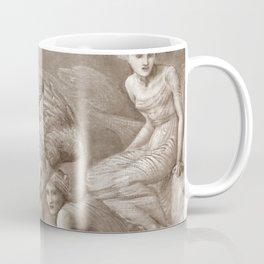 "Edward Burne-Jones ""Cupid's Hunting Fields"" Coffee Mug"