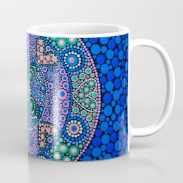 TIME OF NOW MANDALA Coffee Mug