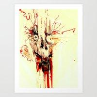 gasket. Art Print
