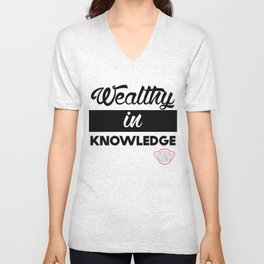 WEALTHY Unisex V-Neck