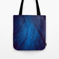 nietzsche Tote Bags featuring I Have Loved the Stars too Fondly by soaring anchor designs