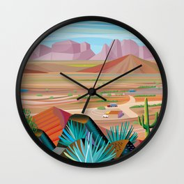 La Pimeria, West Phoenix Wall Clock