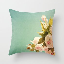FlowerMent Throw Pillow