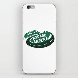 Cascade Campers Logo iPhone Skin