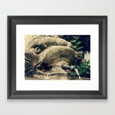 Fuente Framed Art Print