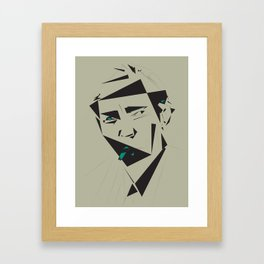Julio Cortazar Framed Art Print