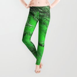 Emerald Fire Leggings