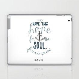 Hebrews 6:19 Laptop & iPad Skin