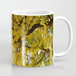 Liquid Amber Autumn Vibes Abstract Coffee Mug