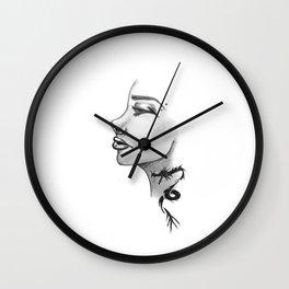 Dragon Tattoo Wall Clock