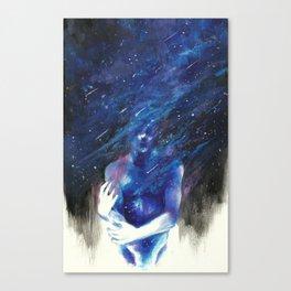 E T H E R Canvas Print