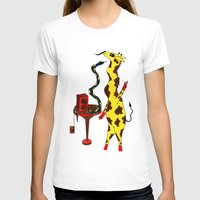 dance T-shirts featuring Dance by Anna Shell