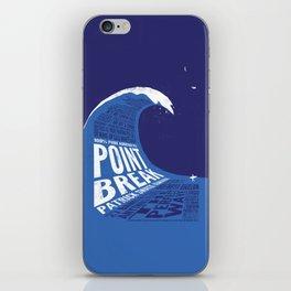 Point Break iPhone Skin