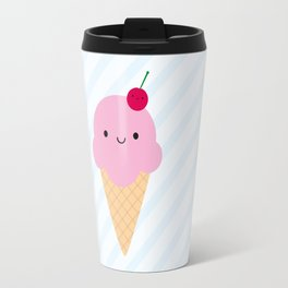 Kawaii Ice Cream Cone Travel Mug