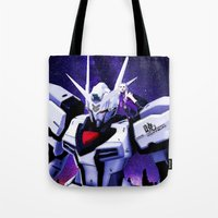 gundam Tote Bags featuring Assembly Required by Danielle Tanimura