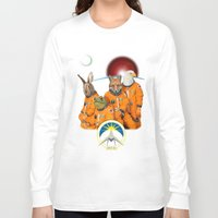 starfox Long Sleeve T-shirts featuring STARFOX - The Lylat Space Program by John Medbury (LAZY J Studios)