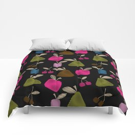 Funny cartoon multi -Frutti . Comforters