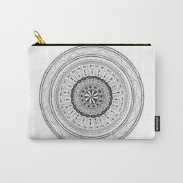 Zendala - Zentangle®-Inspired Art - ZIA 17 Carry-All Pouch