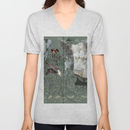 Dionysus and Apollo Unisex V-Neck