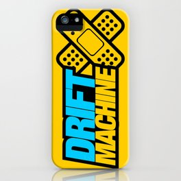 Drift Machine v1 HQvector iPhone Case