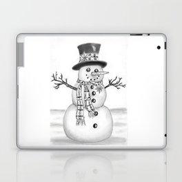 the snowman Laptop & iPad Skin