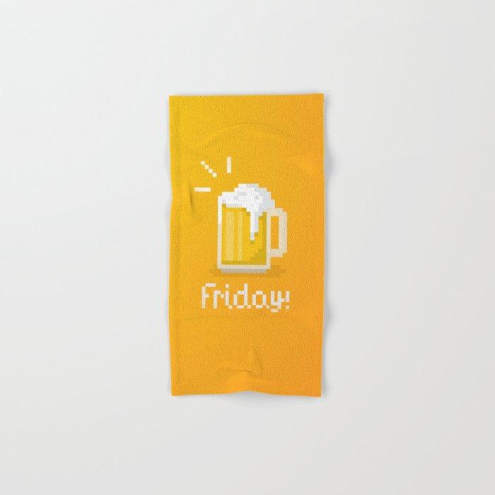 Pixel Friday Hand & Bath Towel