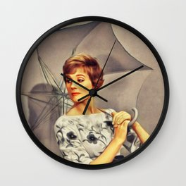 Julie Andrews, Movie Star Wall Clock