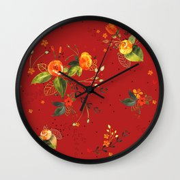 Pattern Oralea Wall Clock