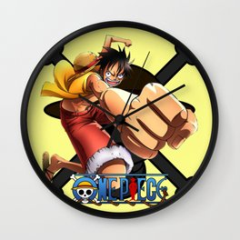 Luffy The Pirates - OnePiece Wall Clock