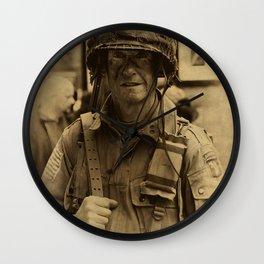 Airborne Ranger - Haworth 1940s weekend Wall Clock