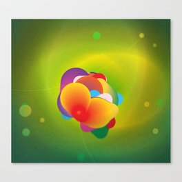Hydrogenation Metal Catalyst  Canvas Print