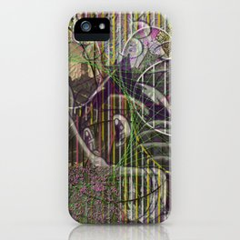 A Strict Code for Mourning Flowers iPhone Case