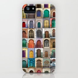 Moorish Doors Montage iPhone Case