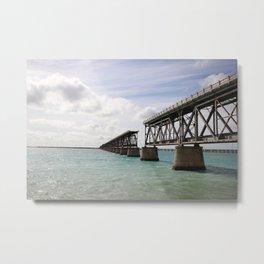 Broken Bridges Metal Print