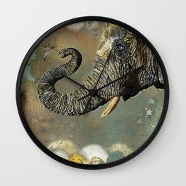 Cyril And Ayre Dreamy Landscape Wall Clock