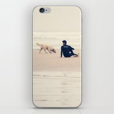 beach yoga iPhone Skin