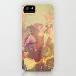 Wild Summer Flowers iPhone Case