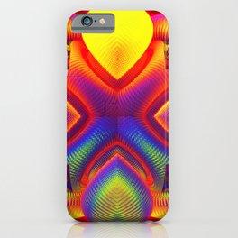 Neon Knobs iPhone Case
