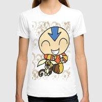 aang T-shirts featuring PowerPuff Aang by auroranq