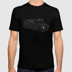 The A-Team Van Black Mens Fitted Tee LARGE