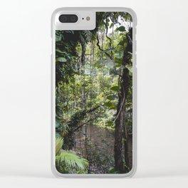 Hidden Jungle River Clear iPhone Case