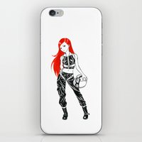 pilot iPhone & iPod Skins featuring Pilot by Freeminds