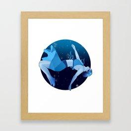 The Deep Framed Art Print