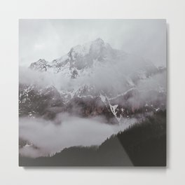 cold montain backgrounds Metal Print