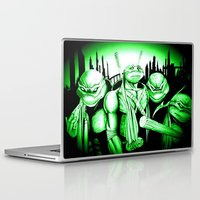 ninja turtles Laptop & iPad Skins featuring  Ninja Turtles by shannon's art space